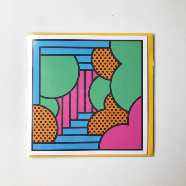 """East End Prints """"The Unknown Path"""" by SUPERMUNDANE アートカード"""