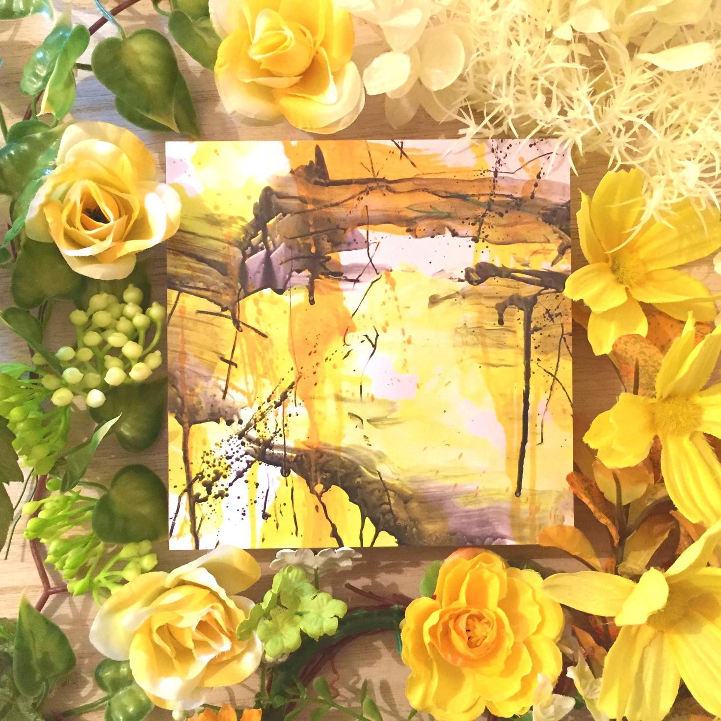 絵画 インテリア アートパネル 雑貨 壁掛け 置物 おしゃれ 抽象画 現代アート ロココロ 画家 : tamajapan 作品 : t-28  /  tamajapan