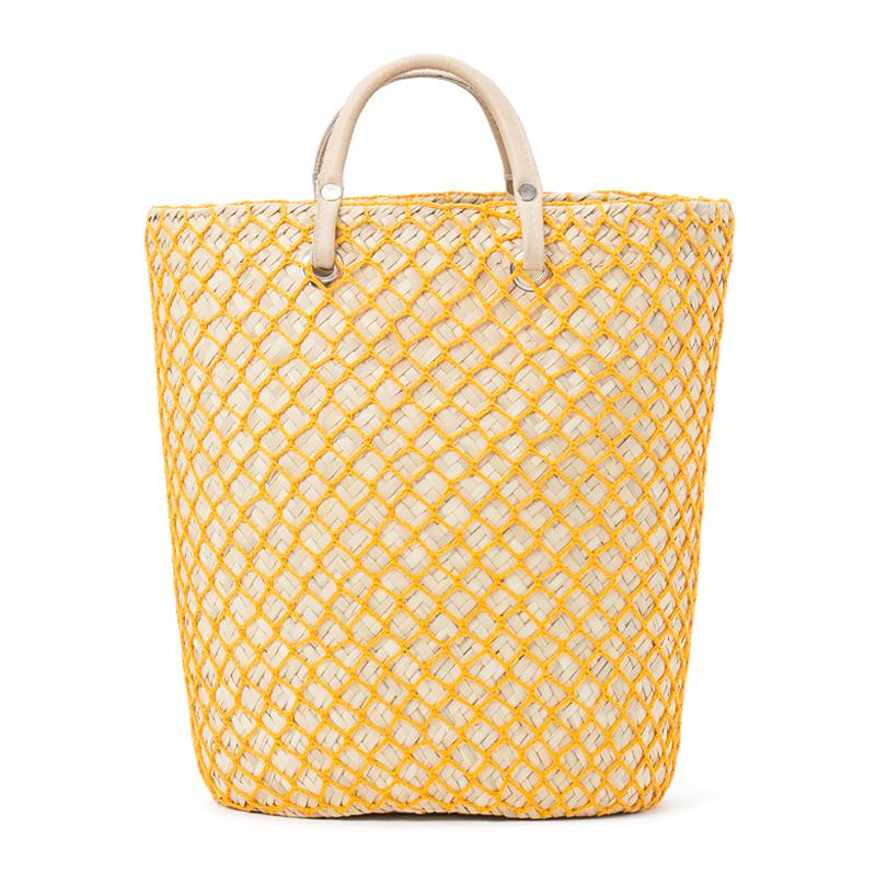 PALMA NET BAG - Yellow