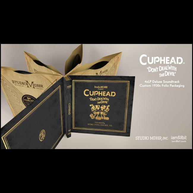 【Cuphead(カップヘッド)】レコード・セット(4LP) - 画像2