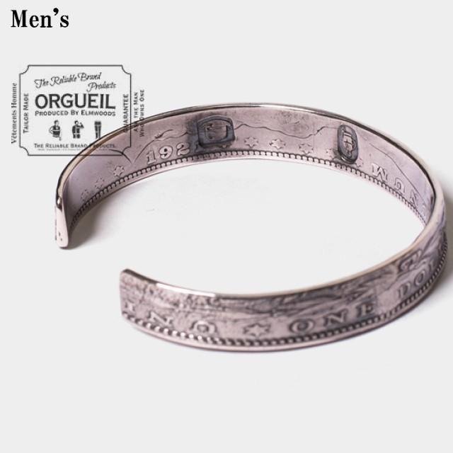 ORGUEIL   コインブレスレット Coin Bracelet OR-7024A 【Men's】