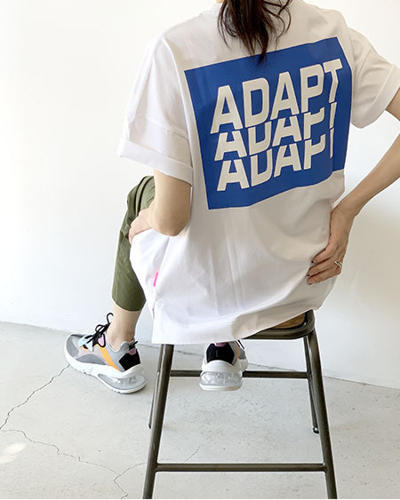 BIGロゴTシャツ(WH) / THOMAS MAGPIE