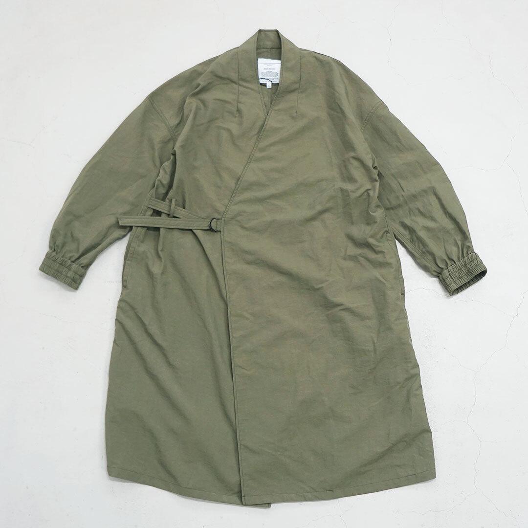 kha:ki カーキ W/P BELTED COAT ベルテッドコート (品番mil-20sjk135)