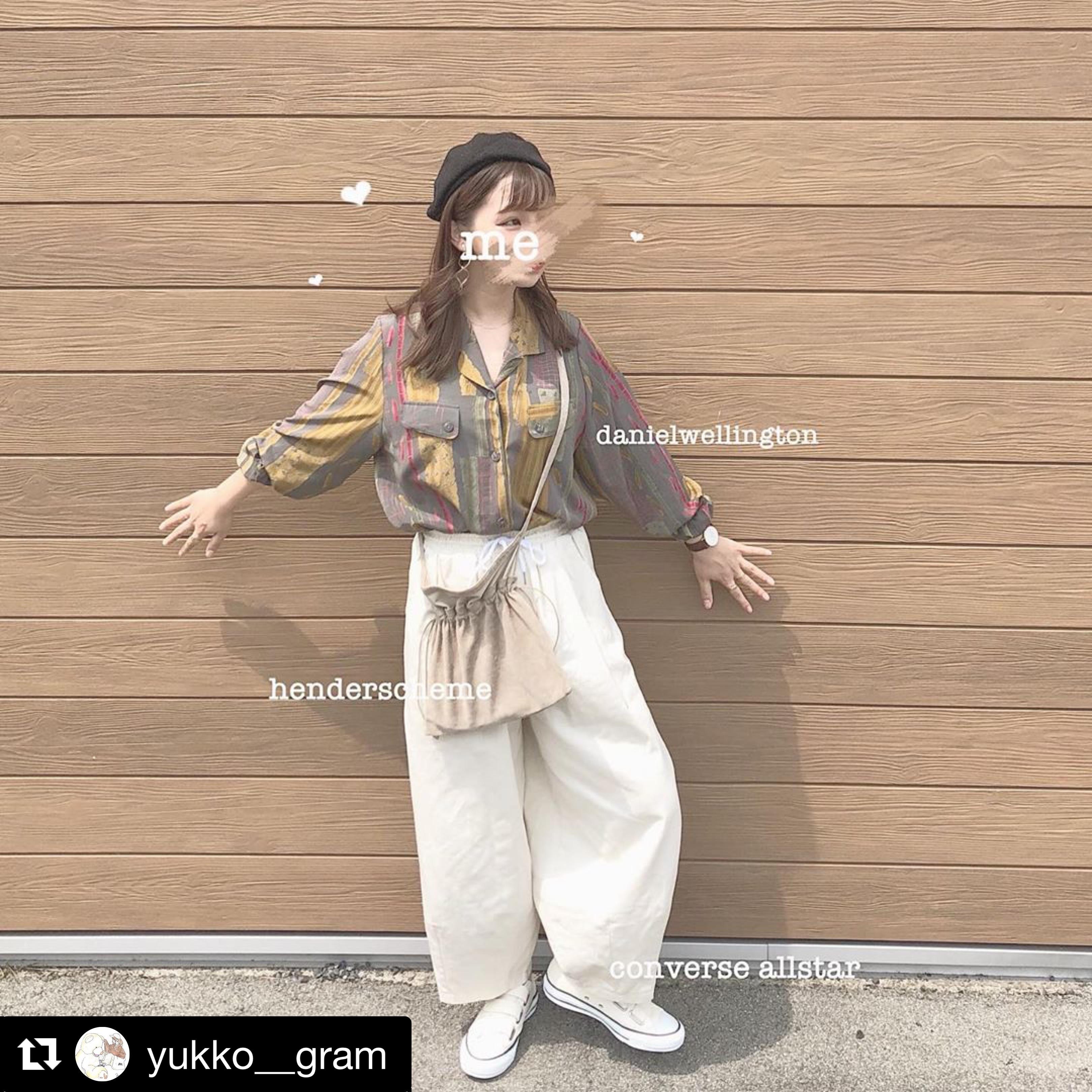 【送料無料】 メンズライクコーデに♡ ワイドレッグ カジュアルパンツ ゆるカジ ルーズシルエット