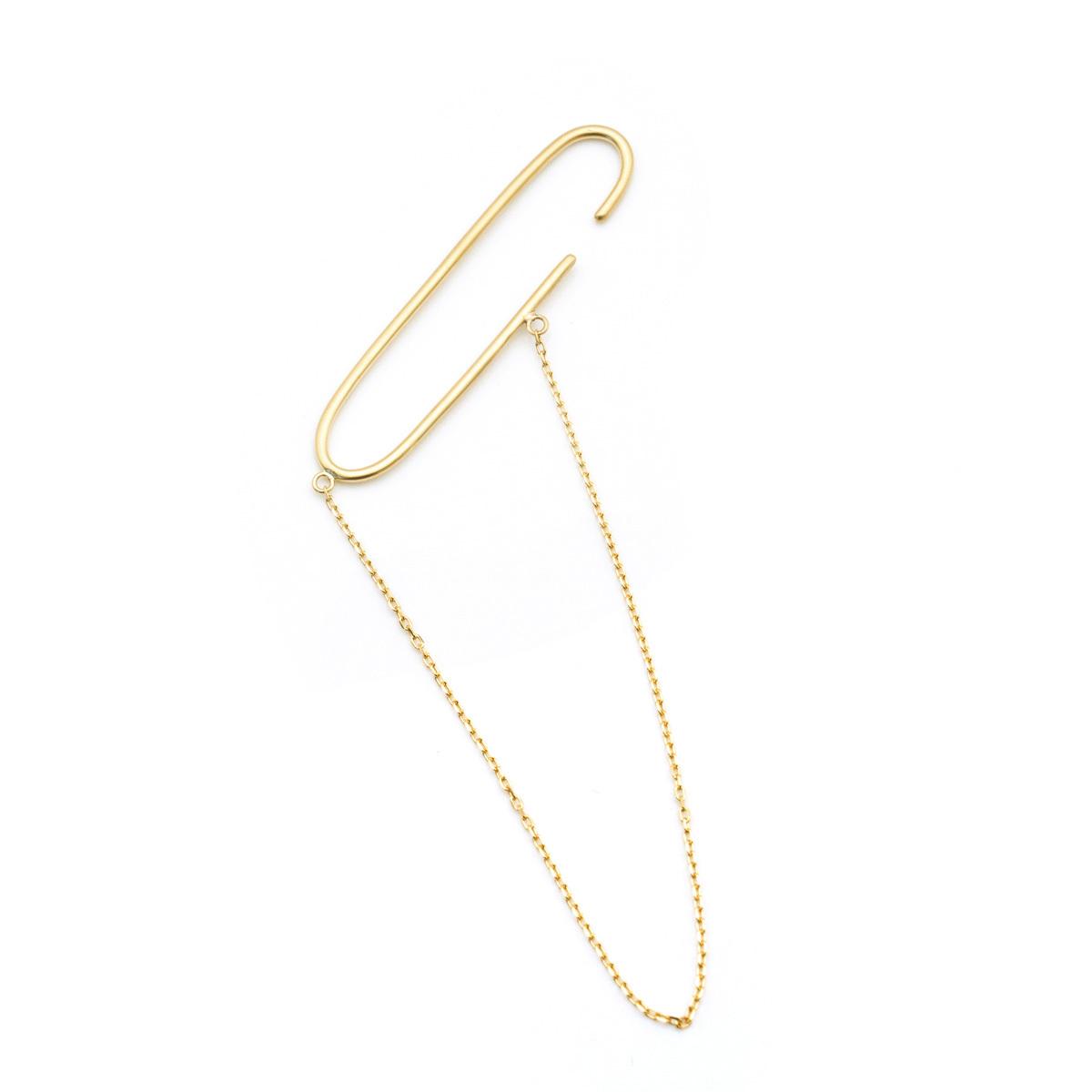 Clip Chain L Earcuff
