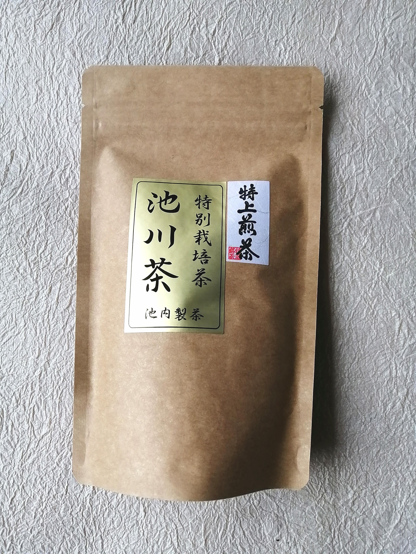 【2021初夏 お山の嬉しうれし便】池内製茶さんの特上煎茶と池川こんにゃく/3セット限定
