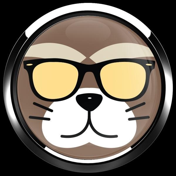 ゴーバッジ(ドーム)(CD0892 - Fancy Cat) - 画像3