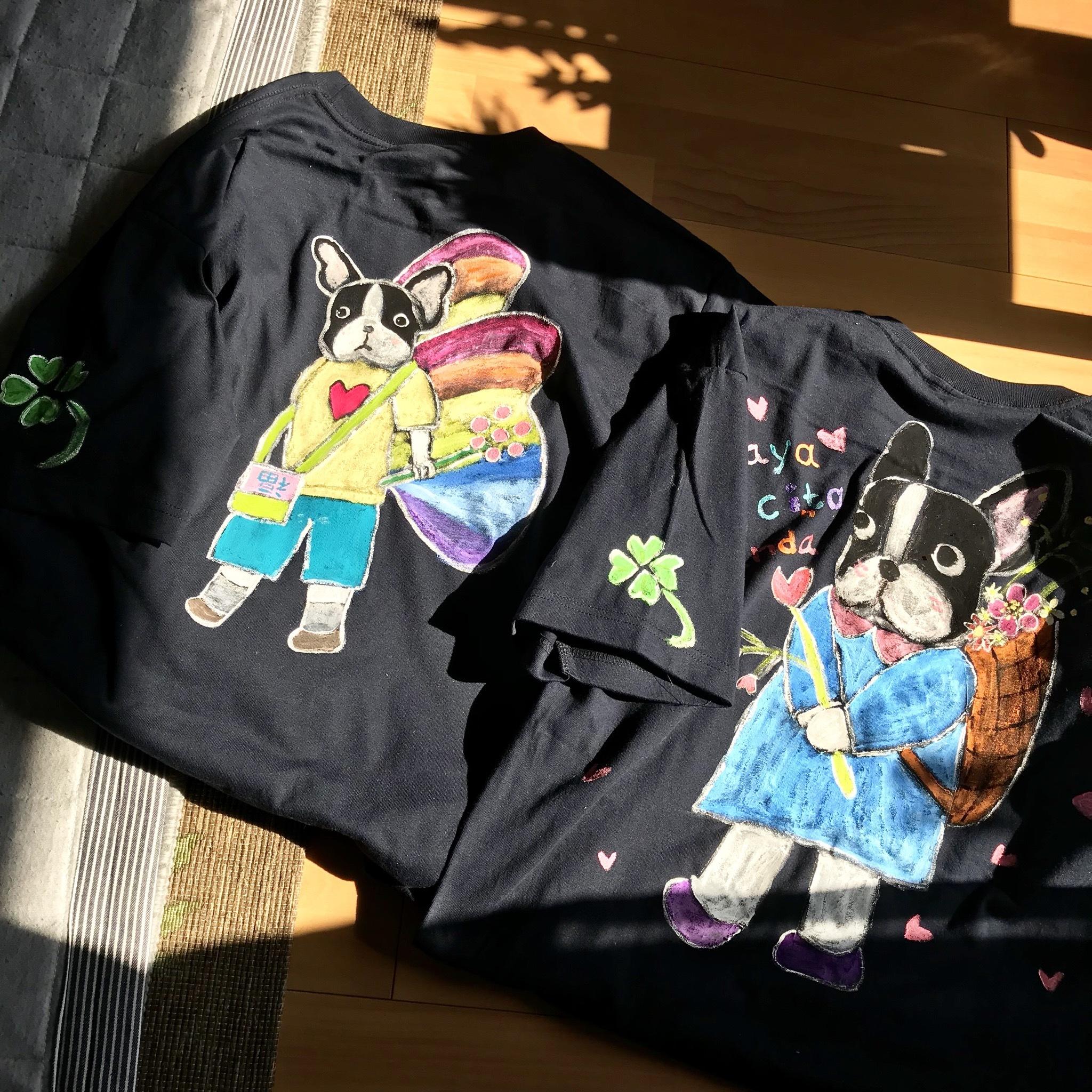 M様オーダーお絵描きTシャツ2枚組(M様のみご購入いただけます)