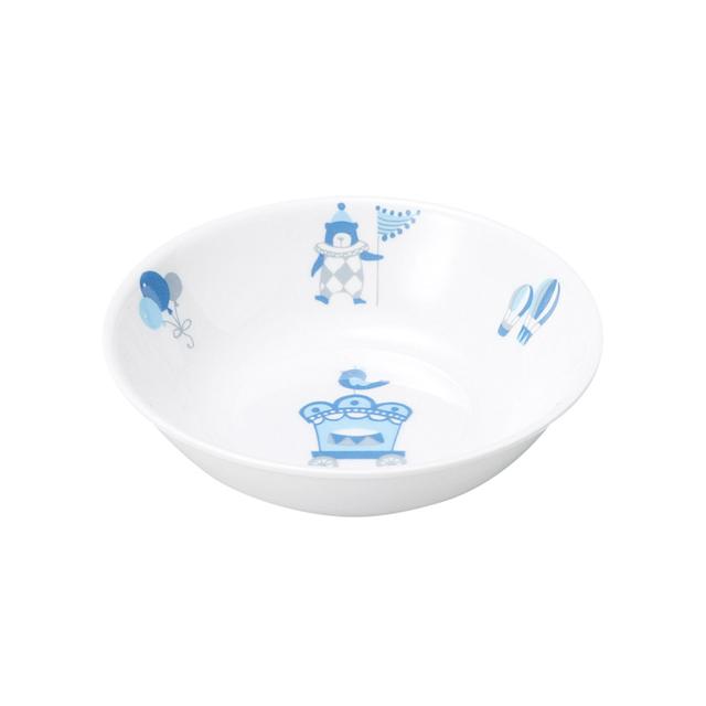 【1159-1300】強化磁器 深小皿 シルク