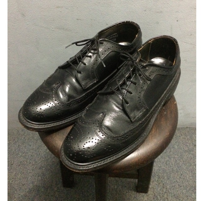 JC Penney old Leather Shoes