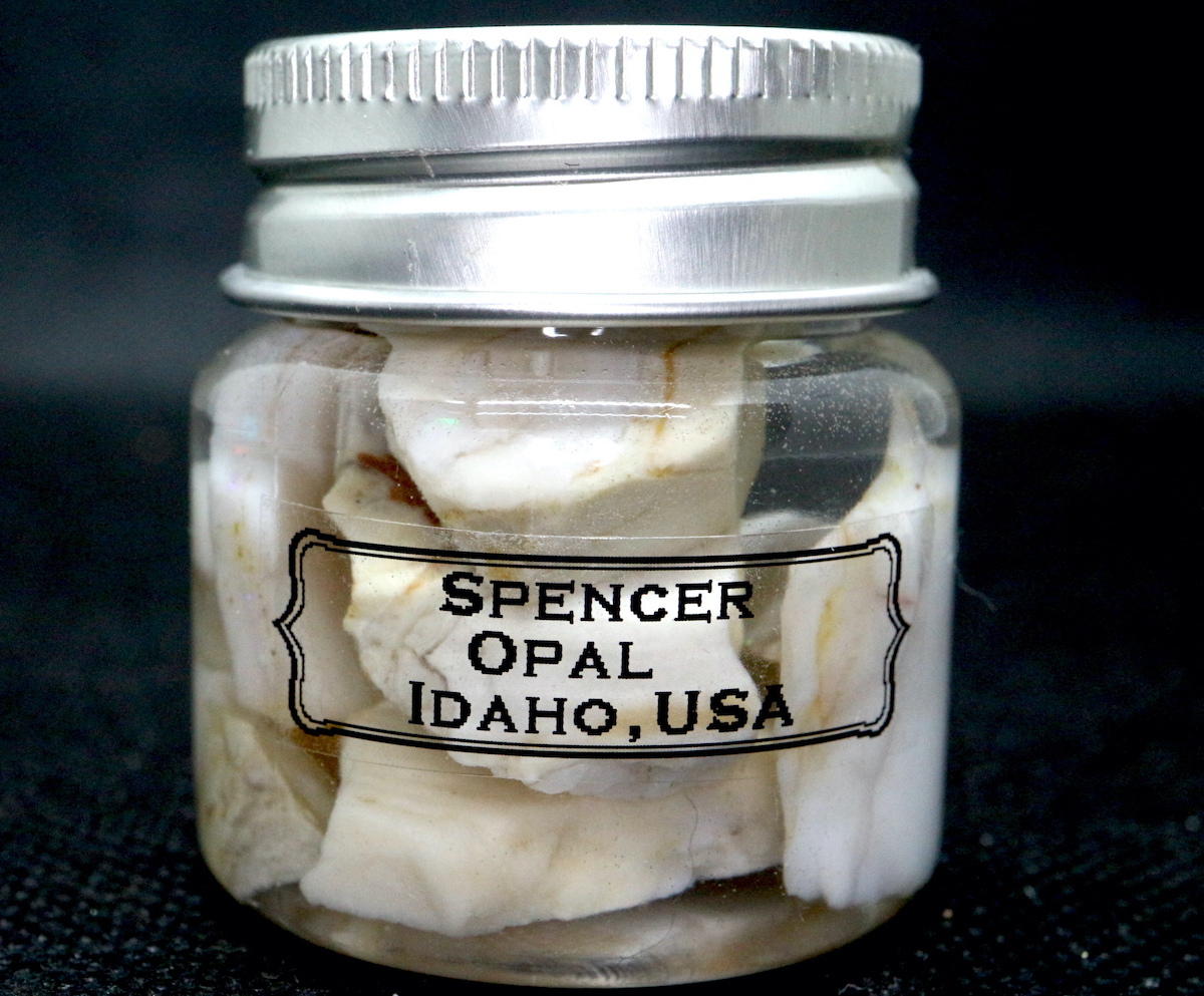 【鉱物セット】スペンサーオパール ボトル 小 瓶詰め #2 SCO053 原石 鉱物 天然石 パワーストーン
