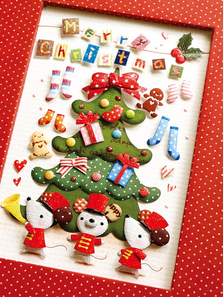 デコクラフト フレームキット クリスマスパレード