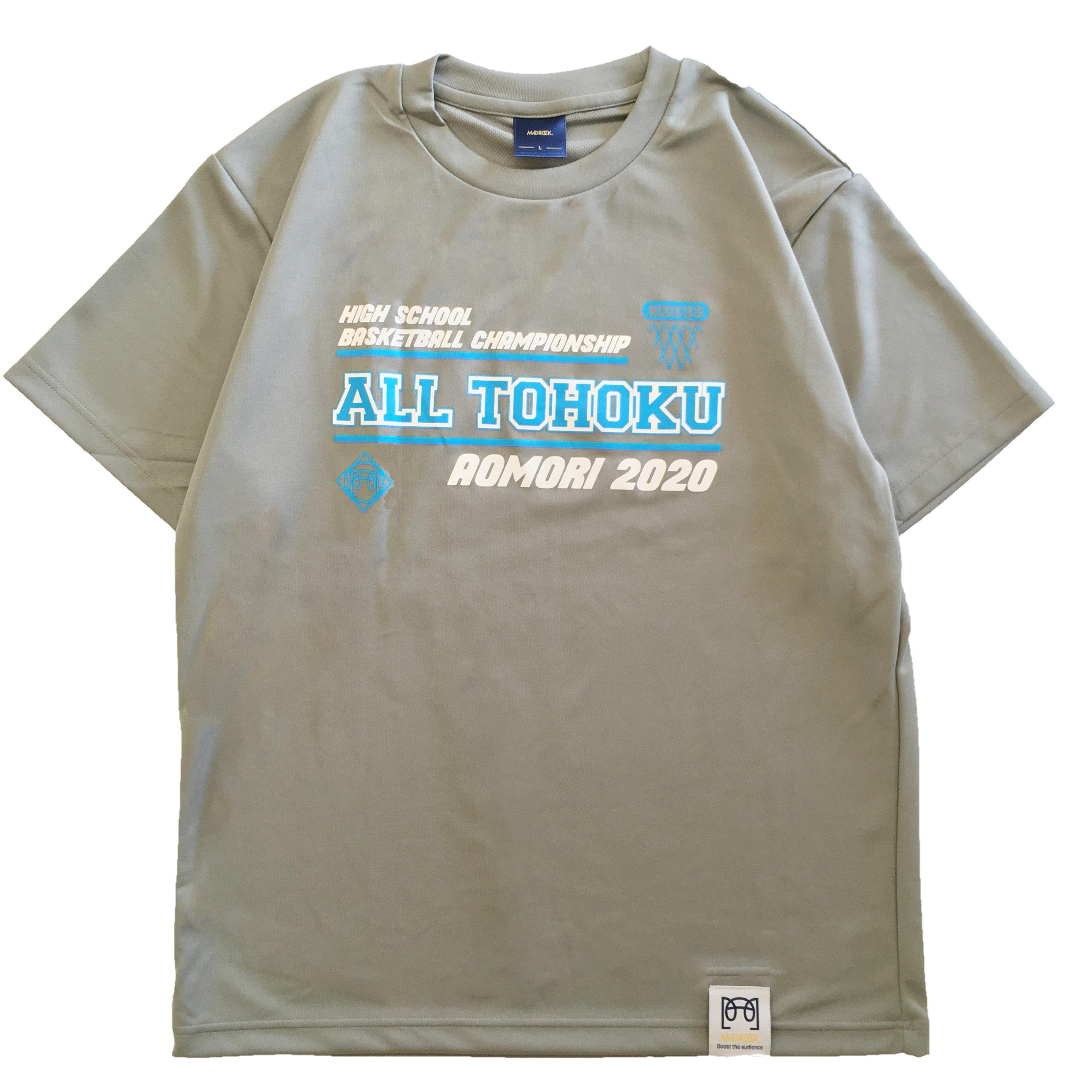 【記念Tシャツ】マッドロック / 東北新人大会記念  Tシャツ / グレー