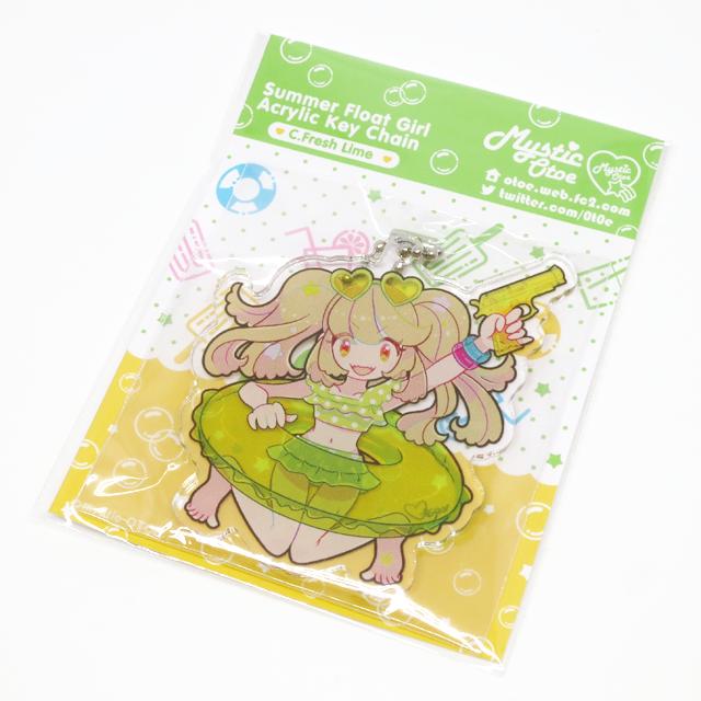 【Mystic Otoe】Summer Float Girlアクリルキーチェーン C
