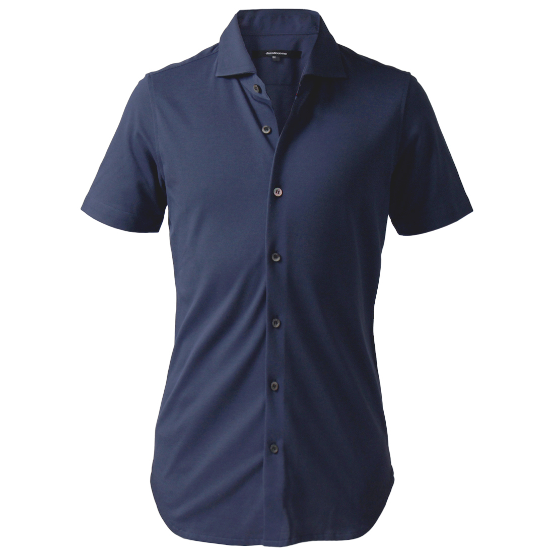 DJS-004 decollouomo メンズドレスシャツ半袖 concorde - ライトネイビー