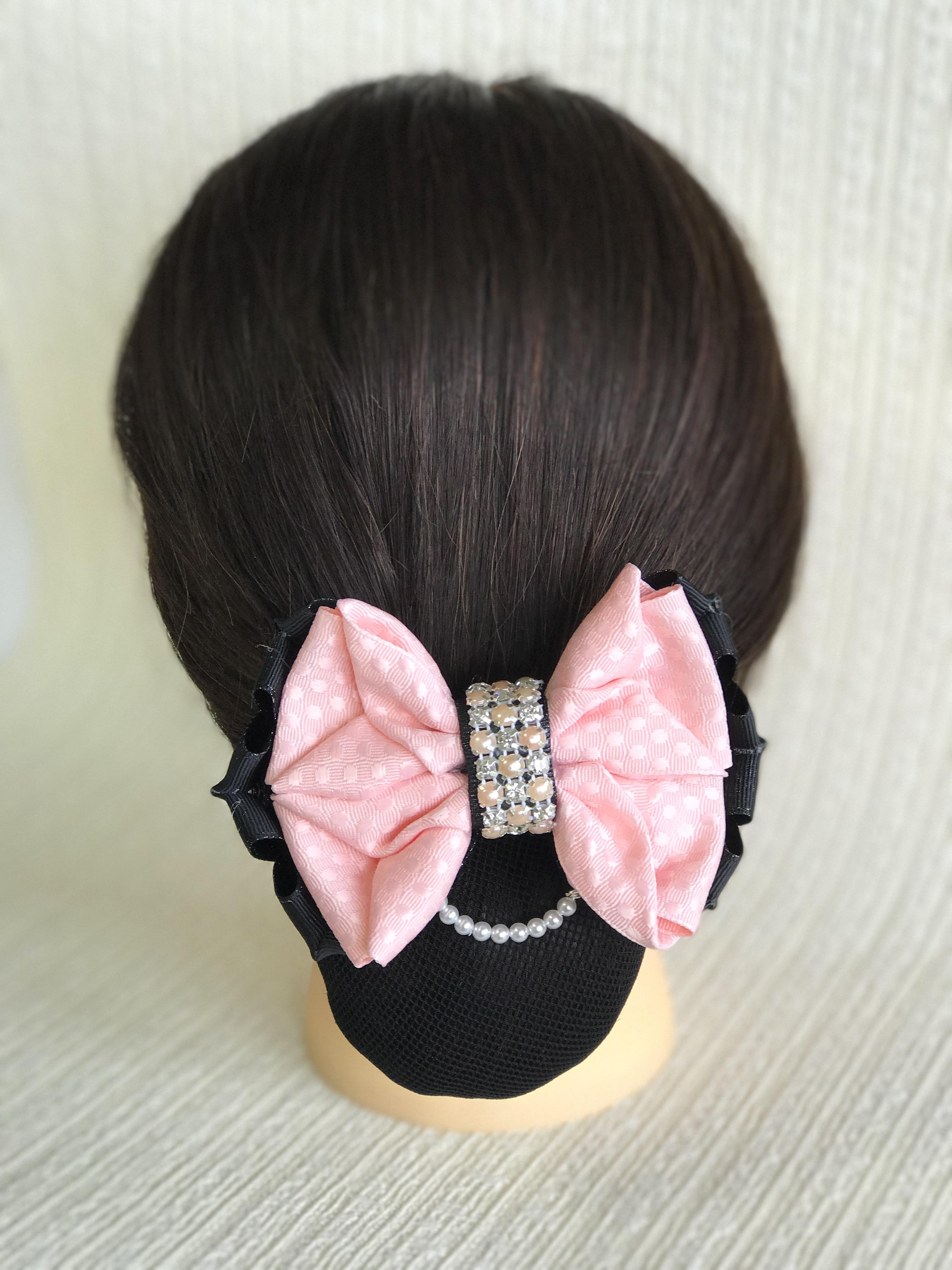 馬術競技用 桜色エンボス