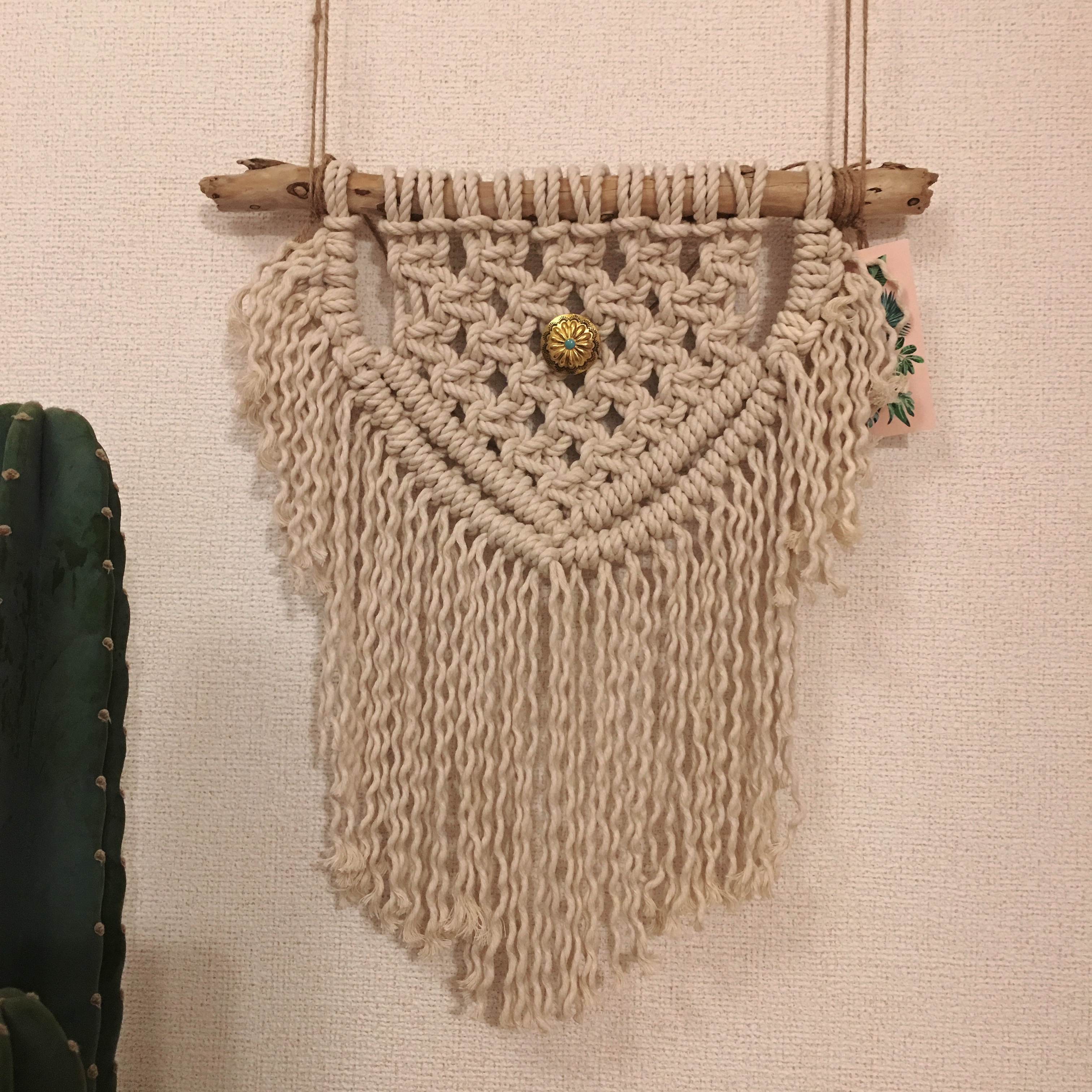 マクラメ 編み