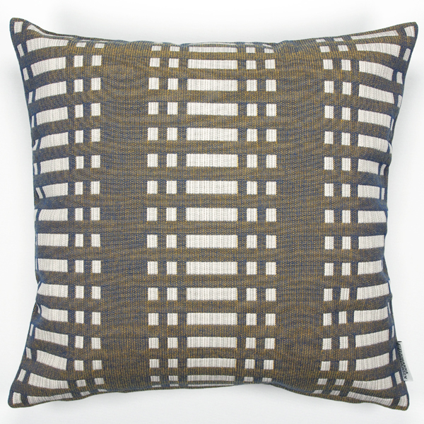 JOHANNA GULLICHSEN Zipped Cushion Cover Nereus Lead