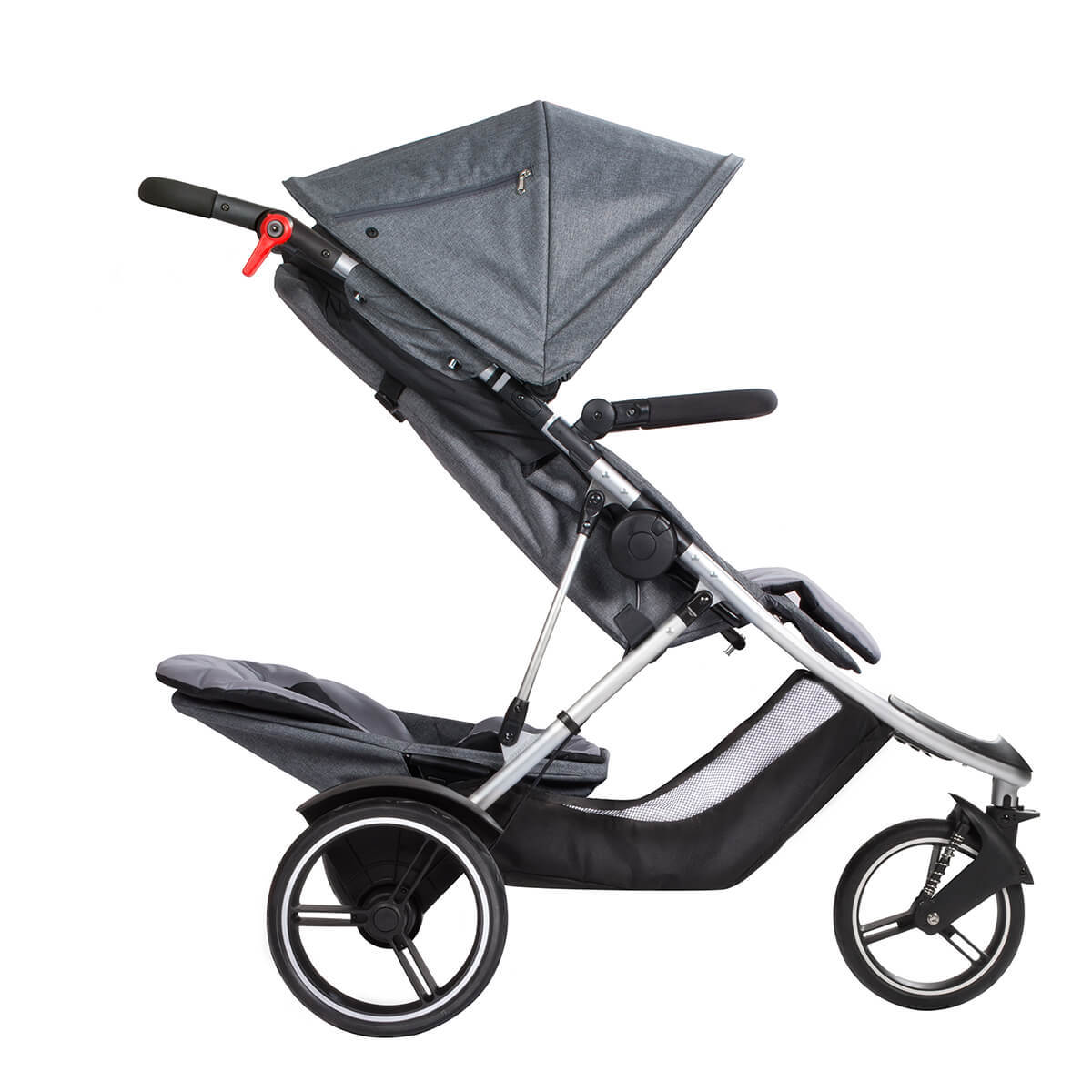 phil&teds Dash buggy Grey Marl  フィルアンドテッズ ダッシュ