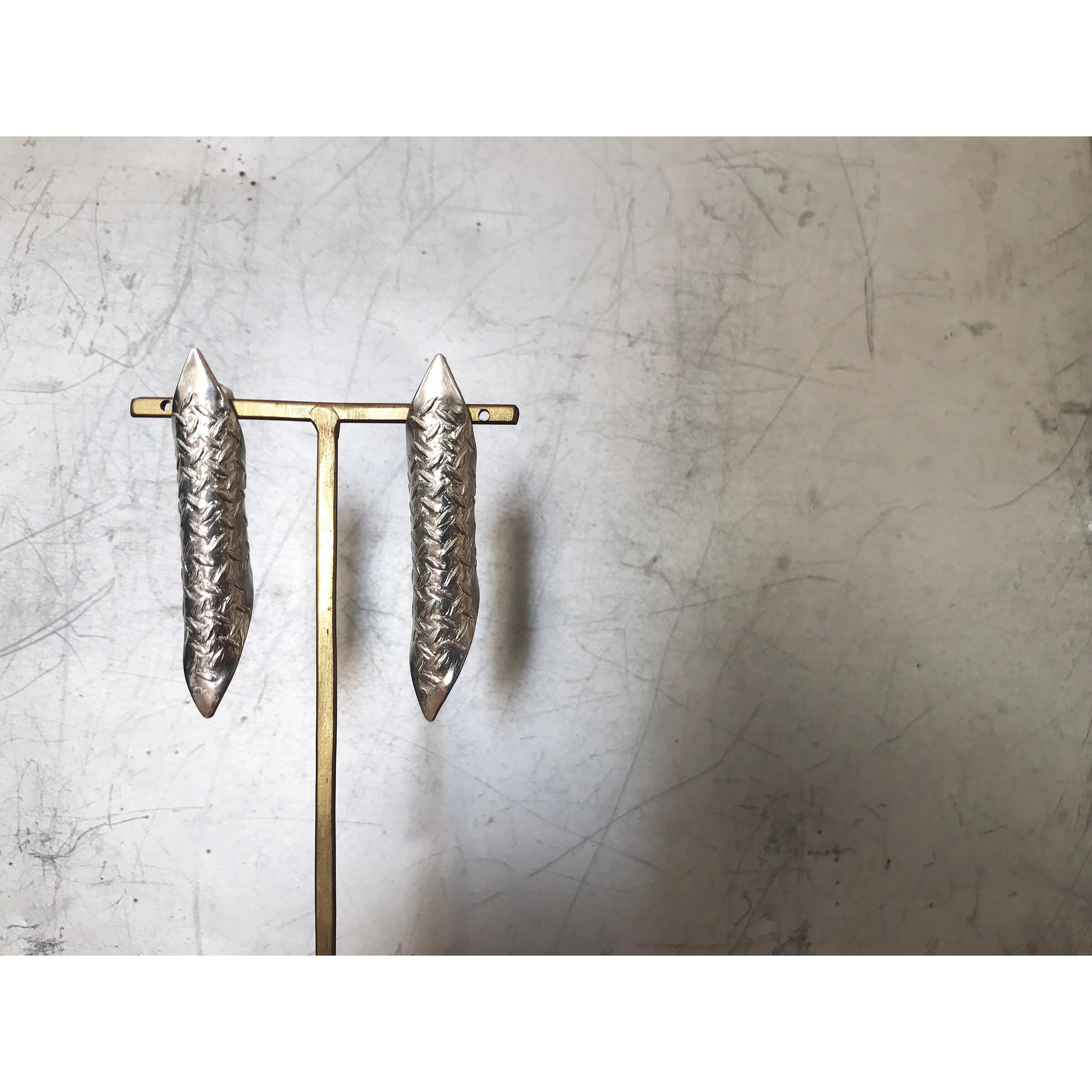 SV/k18_【Brooklyn】earring (order)
