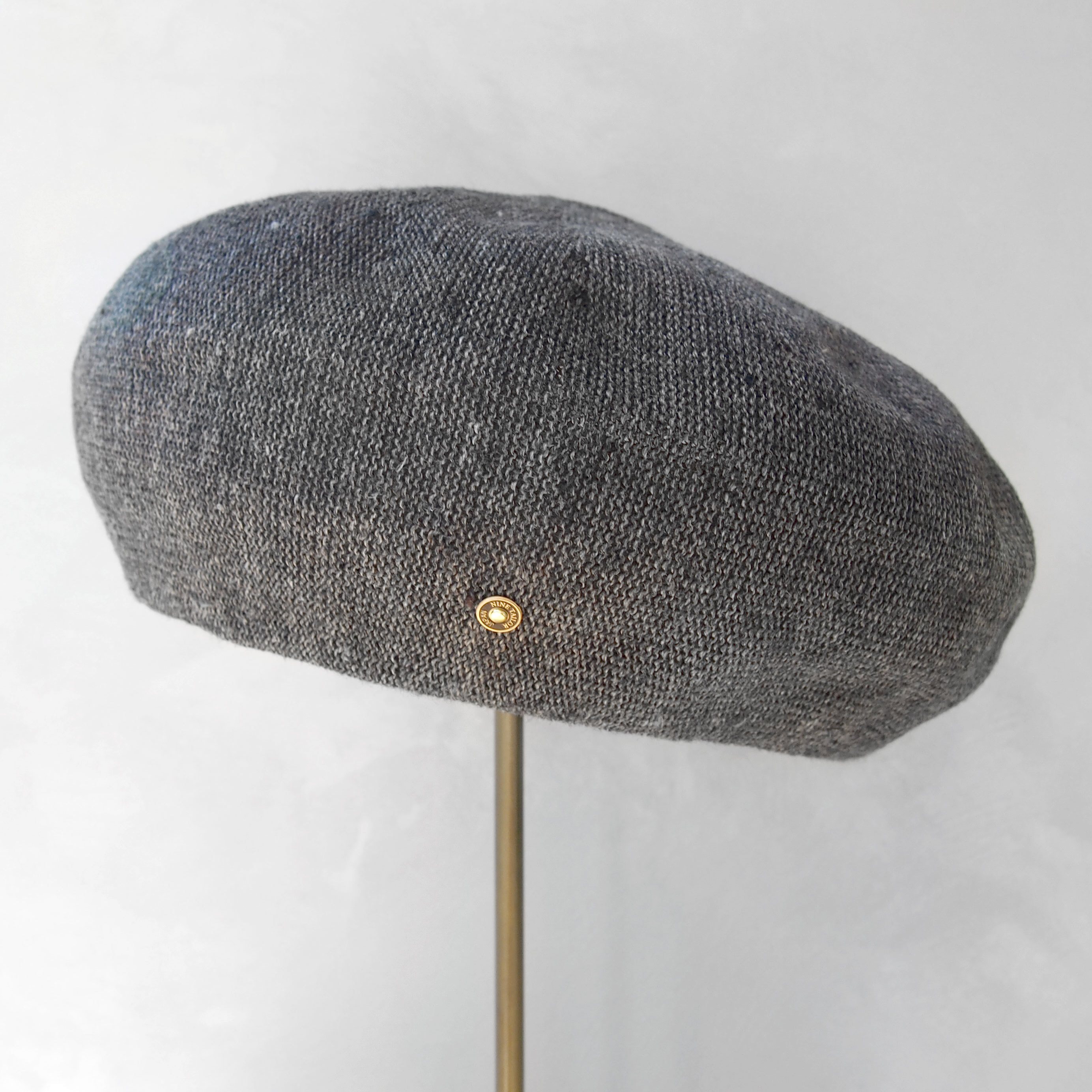 Nine Tailor Brick Beret C.GREY MIX