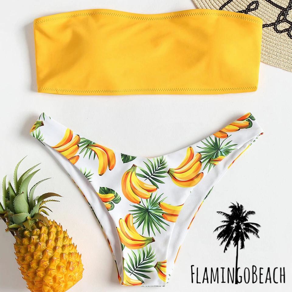 【FlamingoBeach】banana bikini ビキニ