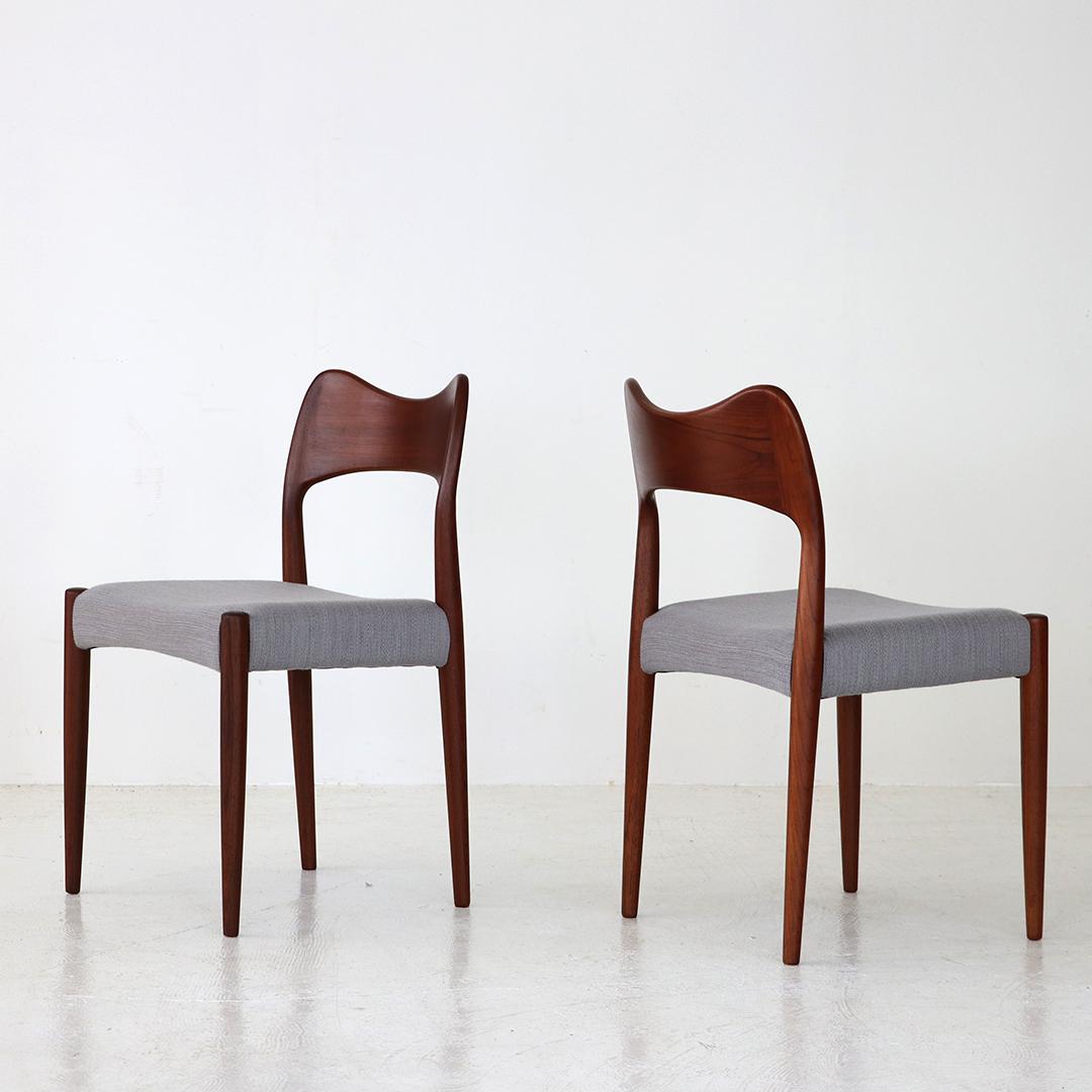 Dining chair / Arne Hovmand Olsen for Mogens Kold