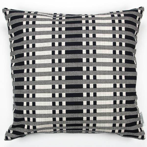 JOHANNA GULLICHSEN Zipped Cushion Cover Tithonus Black