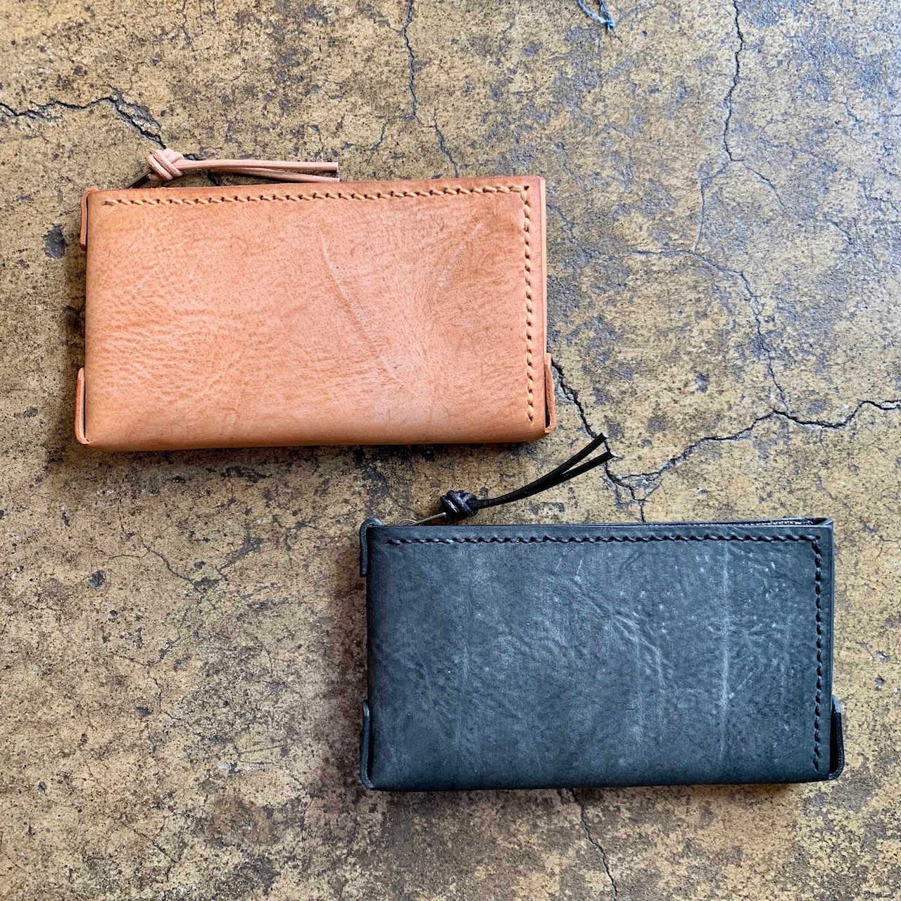 Compact Long Wallet (ALASKA LEATHER)