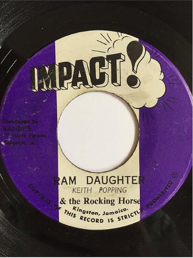 Keith Poppin(キースポッピン) - Ram Daughter【7inch】