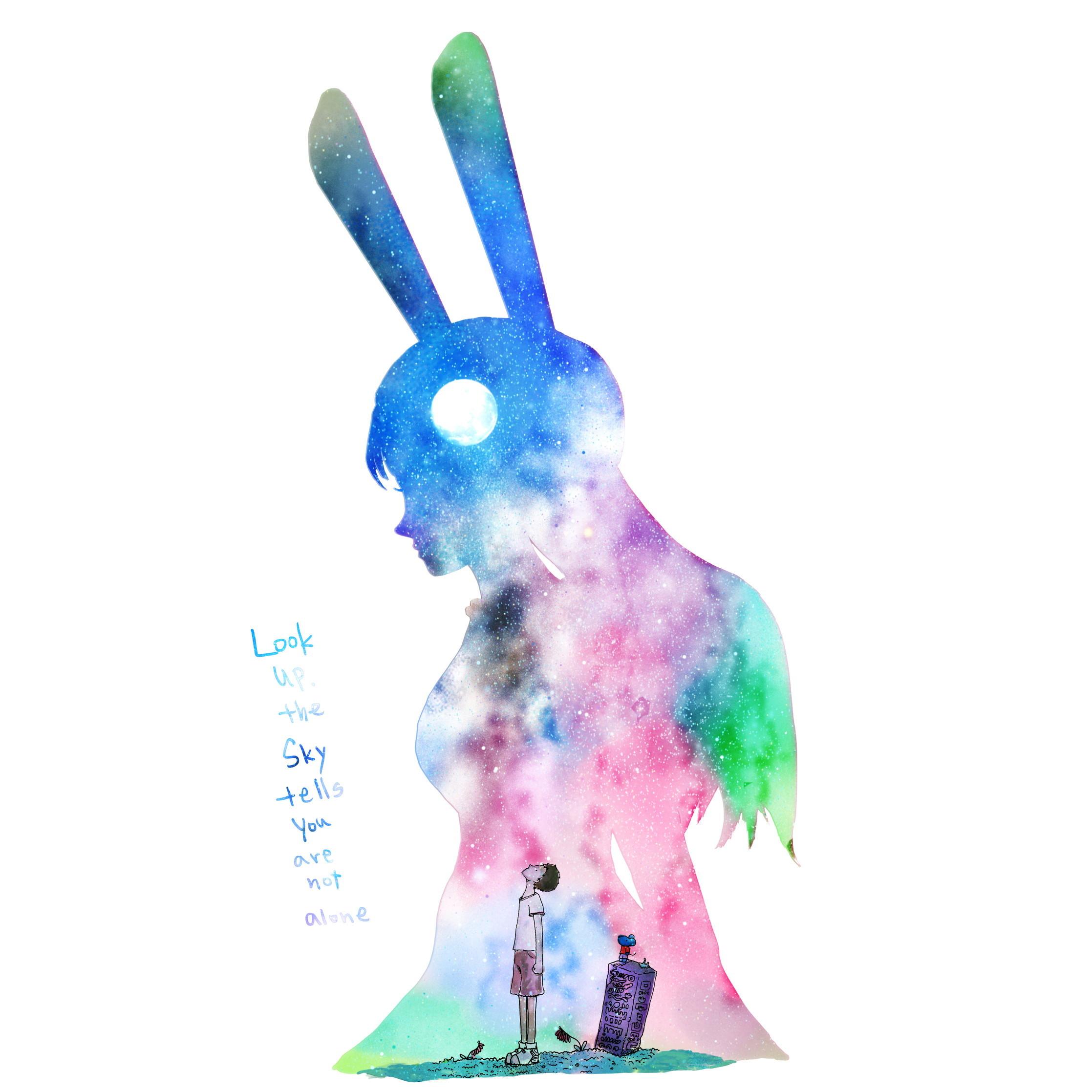 絵画 インテリア アートパネル 雑貨 壁掛け 置物 おしゃれ イラスト ロココロ 画家 : 志摩飛龍 作品 : LOOKUP