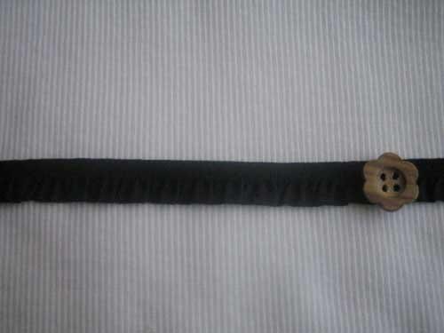 ストレッチフリルレース ブラック SLF-105