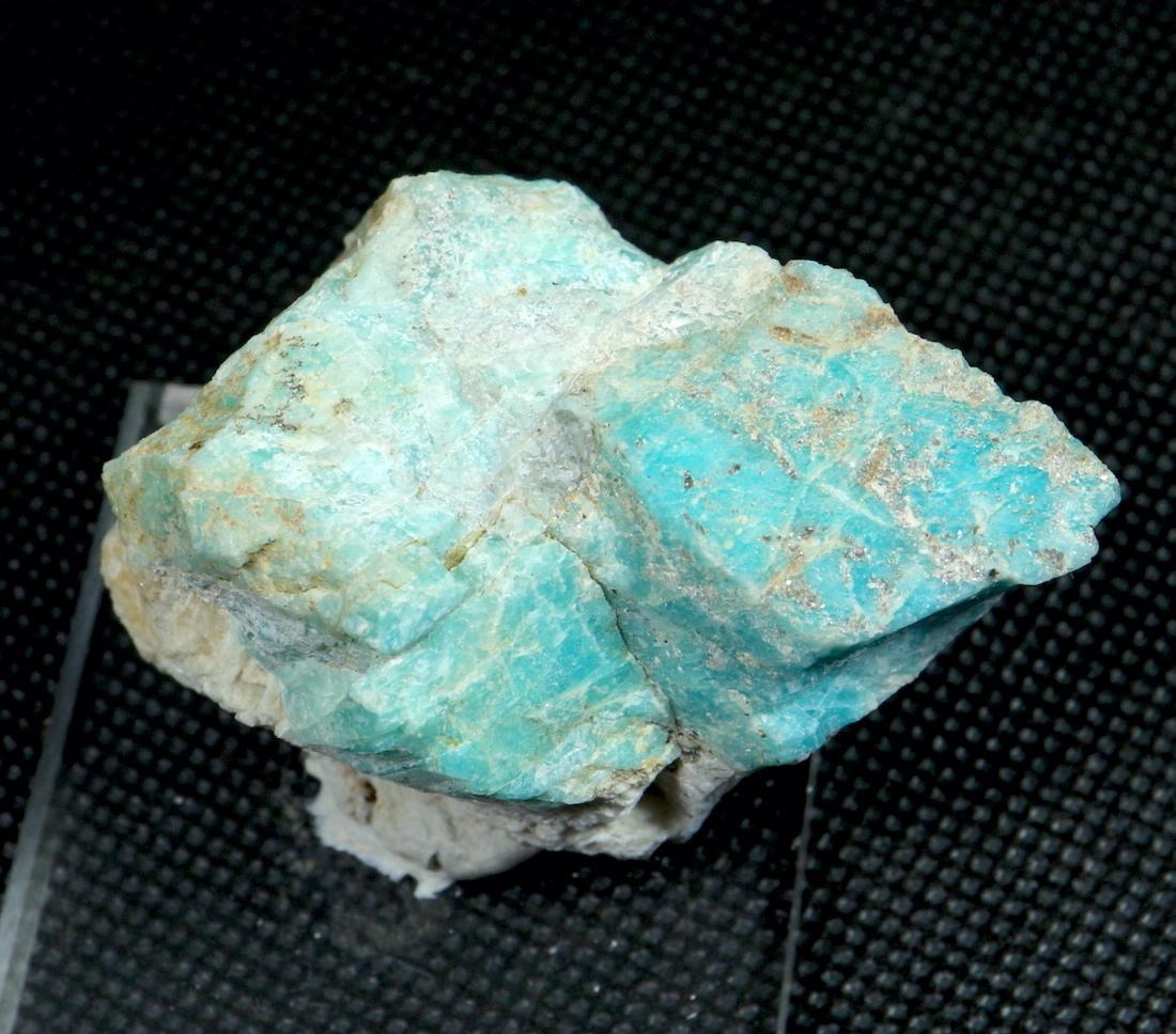 自主採掘!アマゾナイト カリフォルニア産 原石  52,2g AZ0035 天河石(てんがせき) 鉱物 天然石