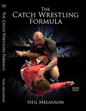 ニール・メランソン  ザ・キャッチレスリング  フォーミュラ DVD4枚セット|ブラジリアン柔術教則|THE CATCH WRESTLING FORMULA BY NEIL MELANSON (DVD)
