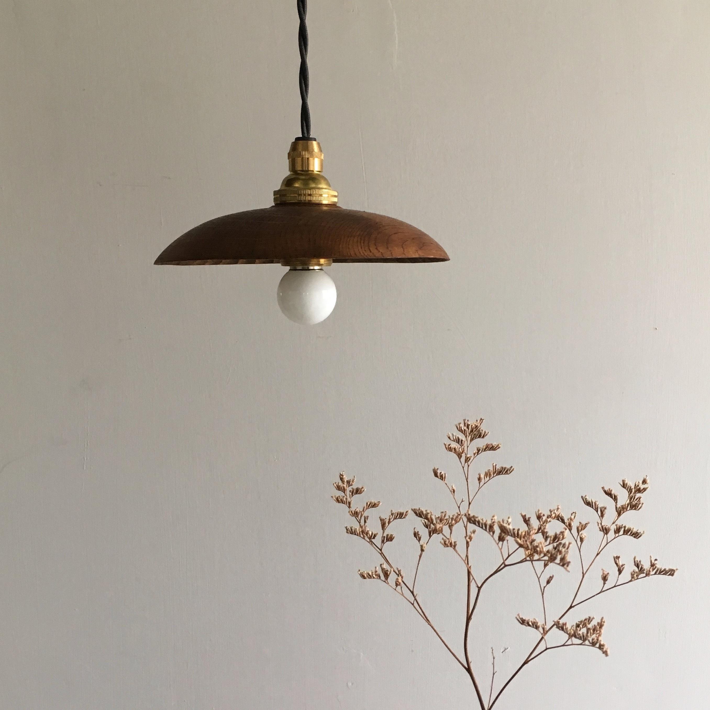 Lamp shade 柿渋仕上げ / kouhei yoshida