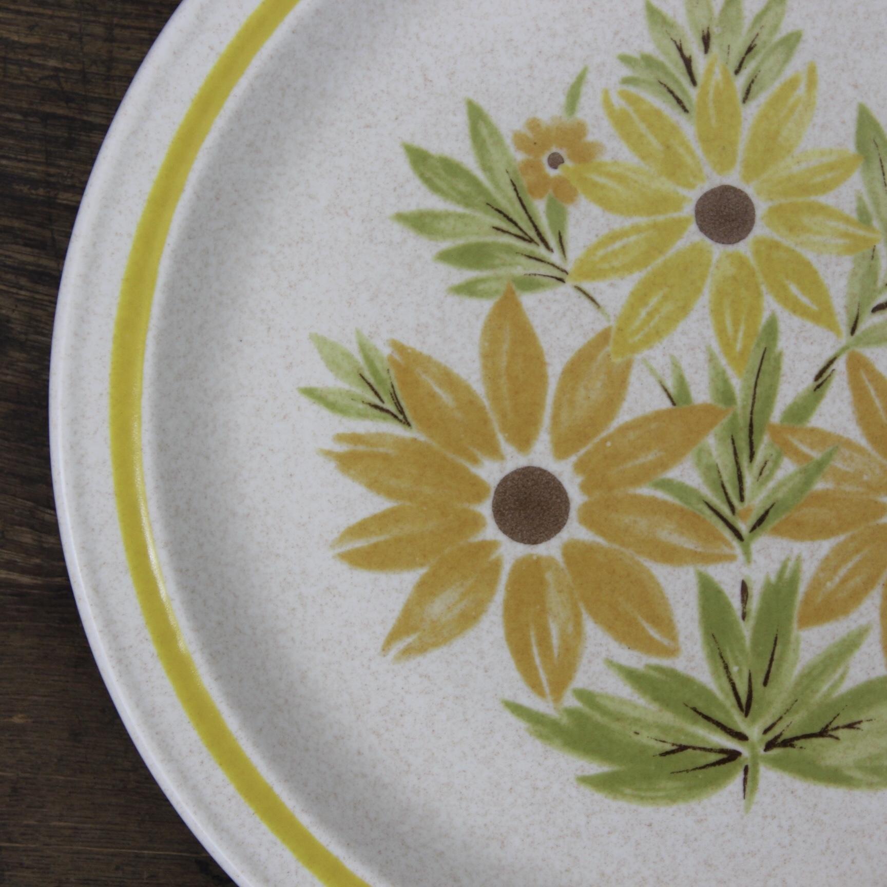 NIKKO 花柄ディナー皿 在庫2枚