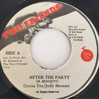 Cocoa Tea(ココティー), Judy Mowatt(ジュディーモワット) - After The Party【7'】