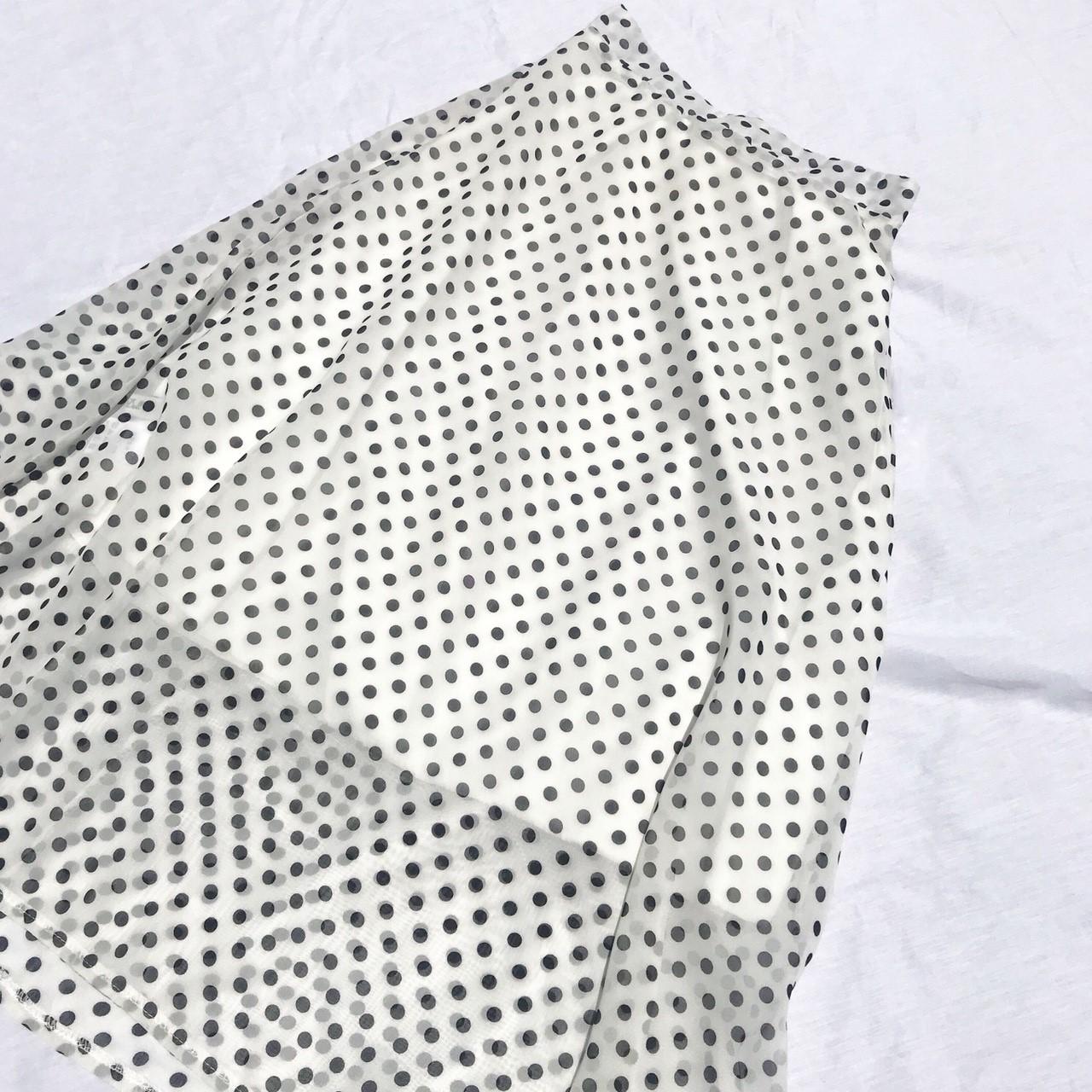 フレアドットスカート