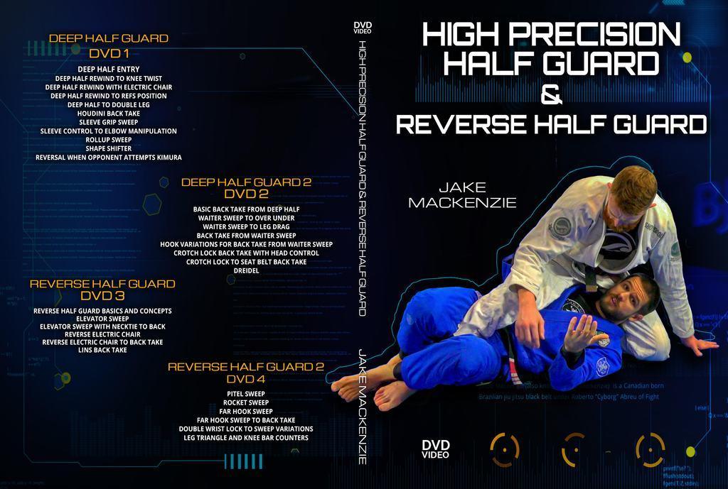 ジェイク・マッケンジー  ハイプレシジョン・ハーフガード&リバース・ハーフガード  VOL.1|ブラジリアン柔術教則DVD