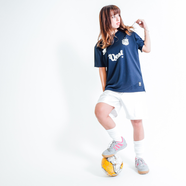 Qest Crown Practice Shirt / Navy - 画像2