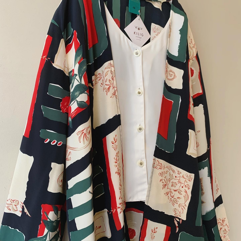 vintage  layered design tops