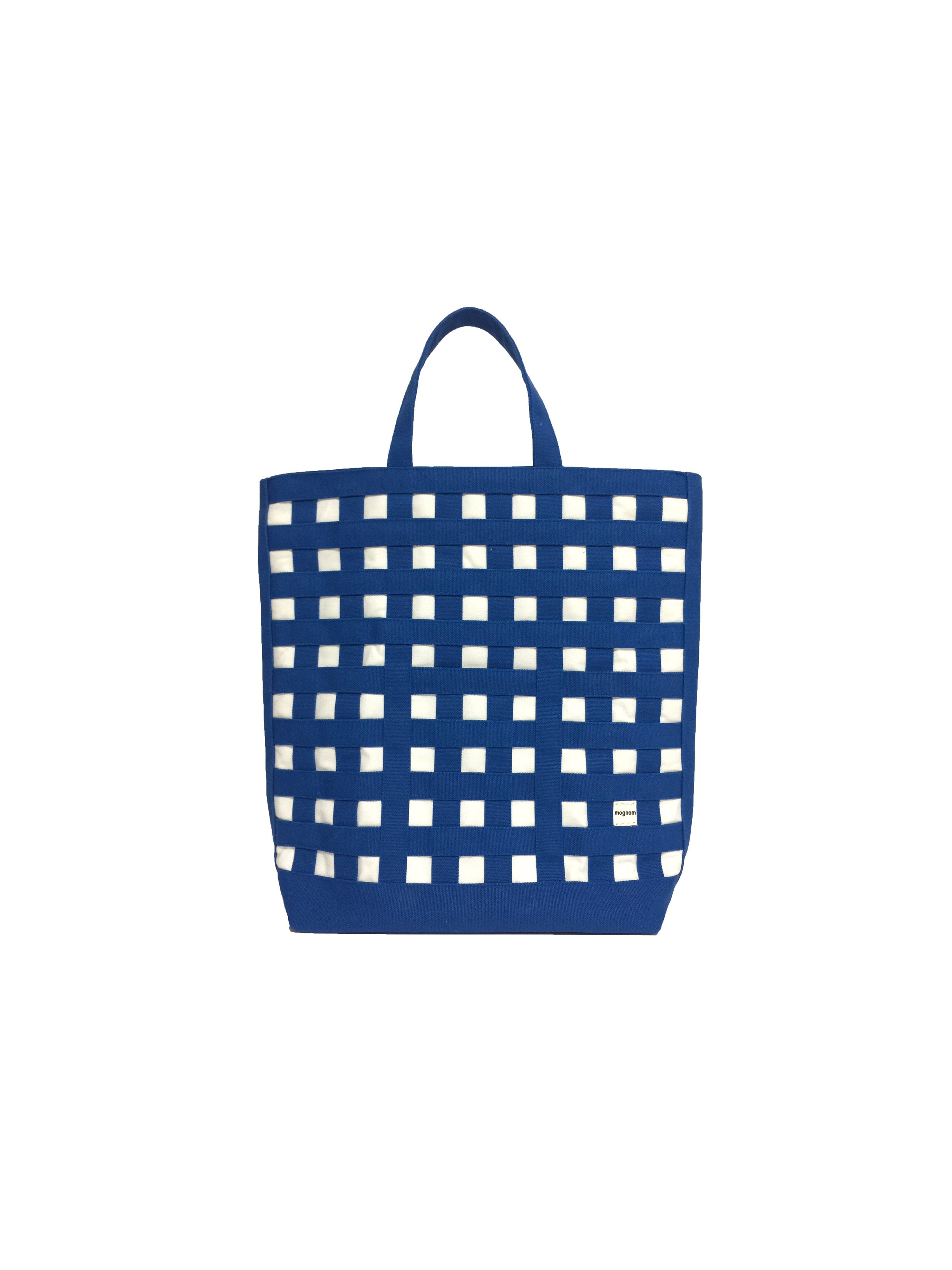gingham tote ギンガムトート carrés  カレ 20-72  カラー:ブルー