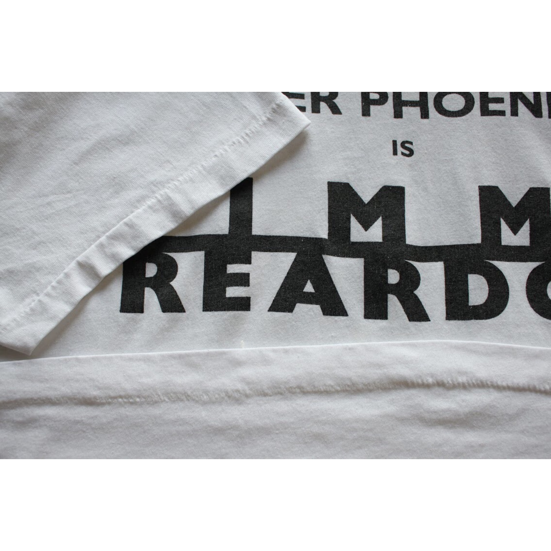 Vintage Jimmy Reardon t shirt