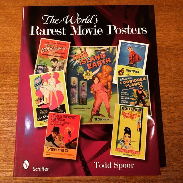 映画の本「The World's Rarest Movie Posters」 - 画像1