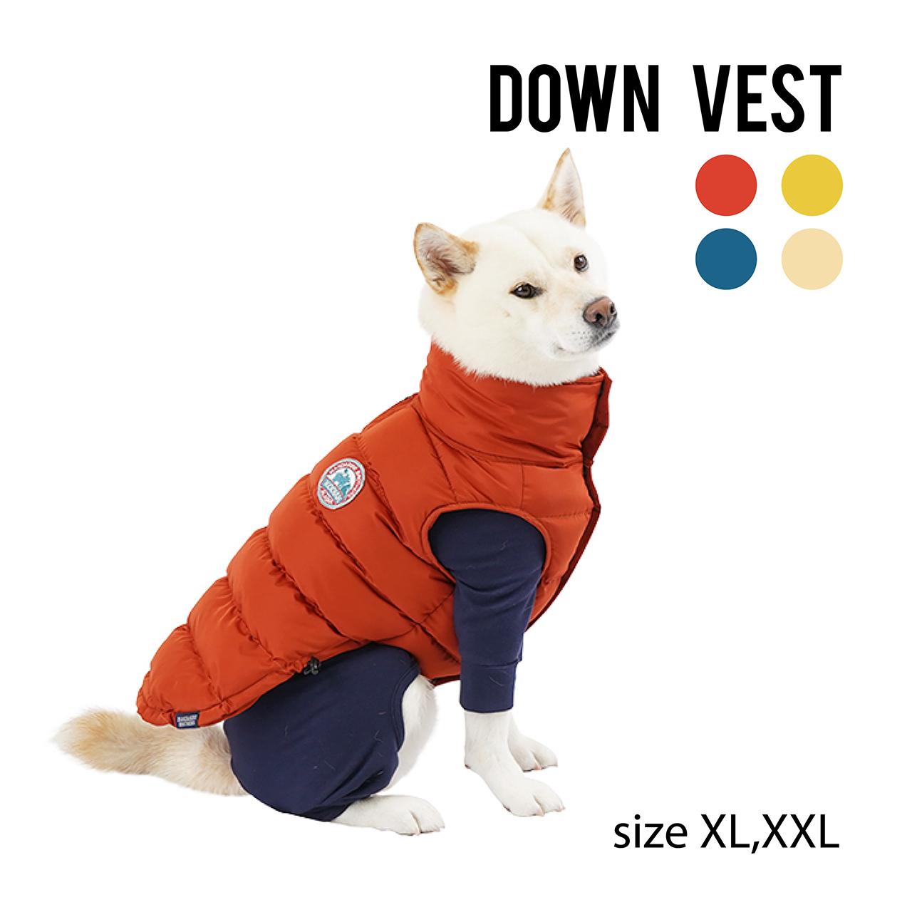 DOWN VEST(XL~XXL) ダウンベスト