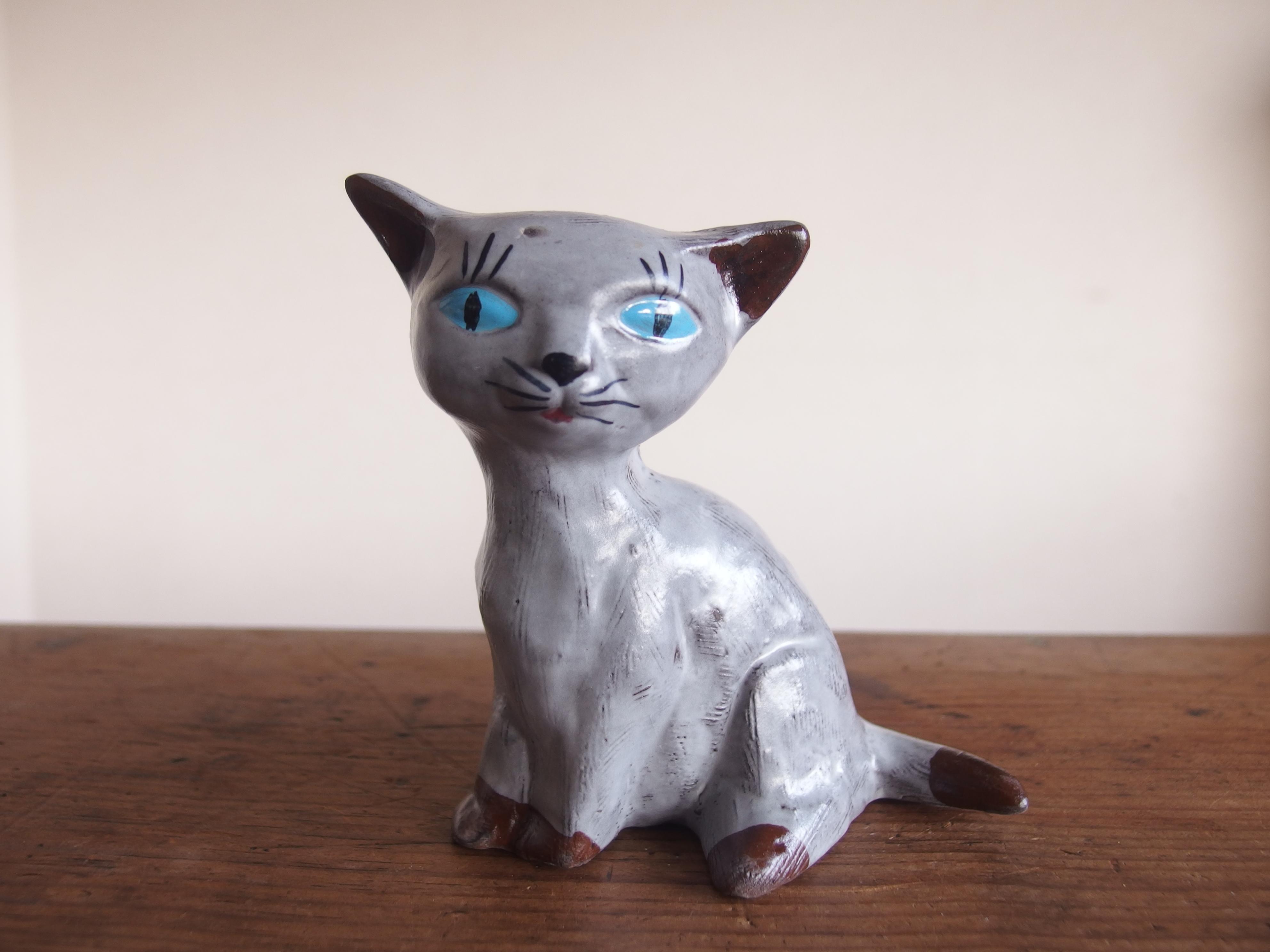 SOLD OUT Vintage Swedish Katt Figurin