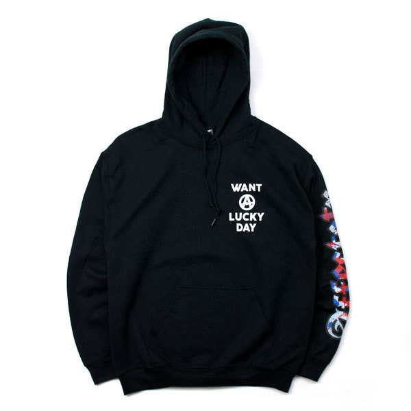 AFFECTER (アフェクター) | WANT LUCKY HOODIE (Black)