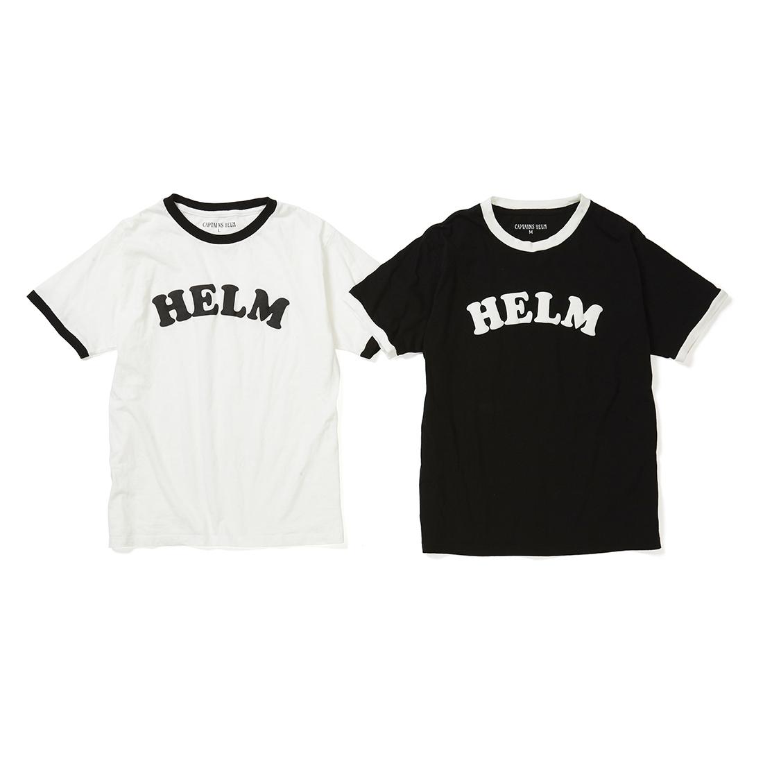 Captains Helm キャプテンズヘルム HELM TRIM TEE  ヘルムトリムTシャツ 半袖 ロゴT