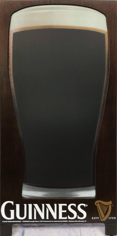 品番0330 サインボード 『GUINNESS(ギネス)』 スタンド 看板 木製フレーム アメリカン雑貨