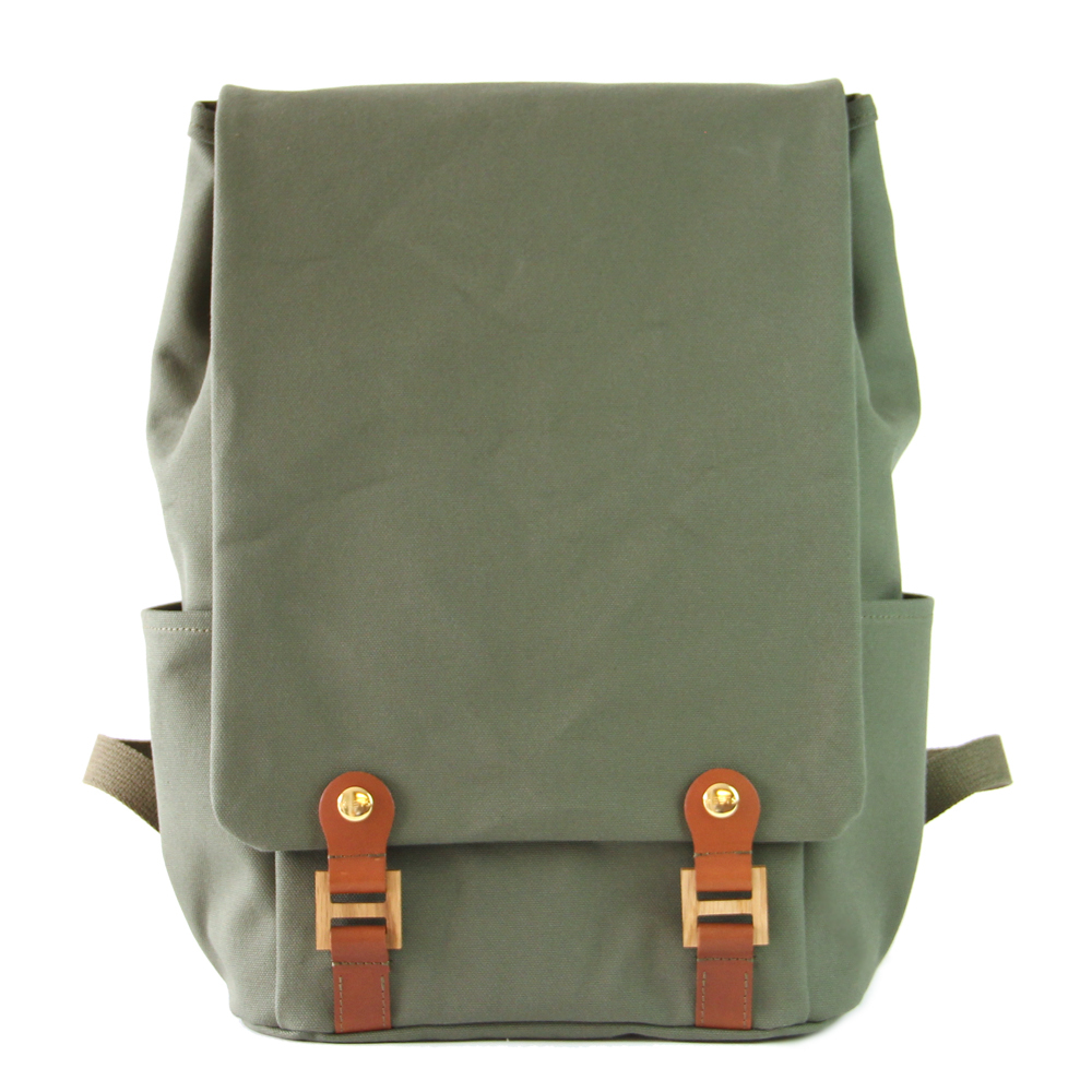 H.T Backpack L オリーブ